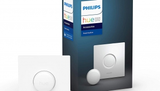 Philips Hue Smart Button Review: the smart button in French switch format!